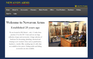 newavon arms web design