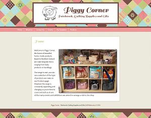 piggycorner web design