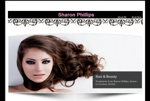 sharonphillips web design